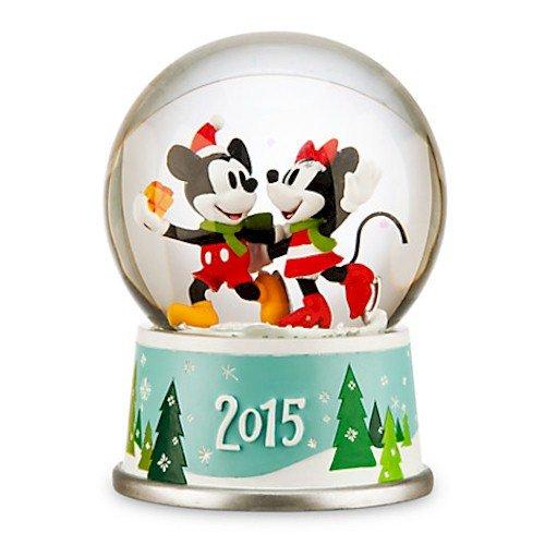 Disney Mickey und Minnie Maus Urlaub Schneekugel 2015