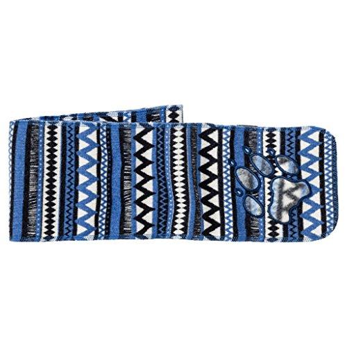 Preisvergleich Produktbild JACK WOLFSKIN Schal HAZELTON SCARF KIDS, coastal blue allover, ONE SIZE, 1906521-7969