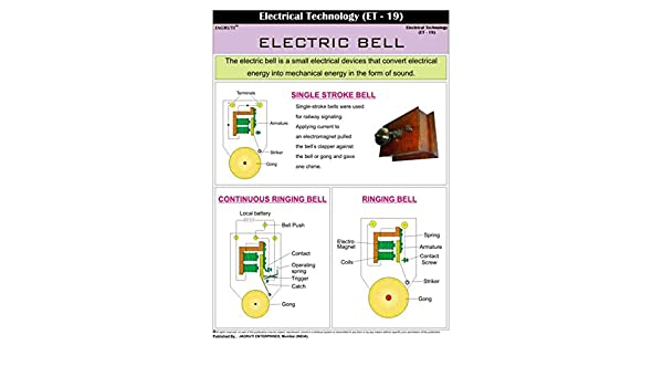 Jagruti Electric Bell Electrical Technology Technical Education PVC