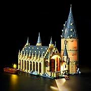 new arrival 14164 f1cde Briksmax Kit di Illuminazione a Led Per Harry Potter-La Sala Grande di  Hogwarts, Compatibile con il Modello Lego 75954 Mattoncini da Costruzioni -  Non ...
