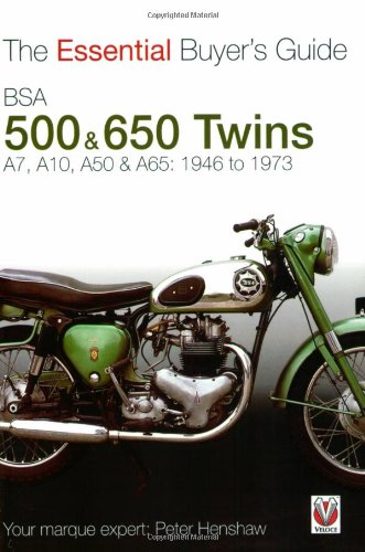 Bsa 500 & 600 Twins: The Essential Buyer's Guide por Peter Henshaw