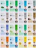 We understand that skin types change depending on the environment, age and lifestyle. Whatever your skin type is dry, combination, acne prone, tired or aging, experience the difference with our 16 combo collection. All 16 Sheet mask recipes h...