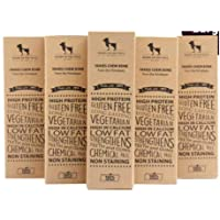 Heads Up For Tails Yak Chew Bone for Dogs - Milk Bars for Dogs - Chhurpi Dog Food Treats (Milk Chews) - Large - Healthy…