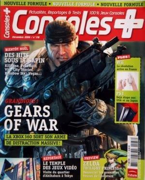 CONSOLES PLUS N? 178 du 01-12-2006 DES HITS SOUS LE SAPIN - GEARS OF WAR - WII - PS3 - LE TEMPLE DES JEUX VIDEO - ZELDA TWILLIGHT PRINCES par Collectif