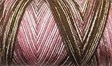 #10: WOA Fashions Acrylic Hand Knitting Yarn - Pack of 1 (Multi Coffee Pink)