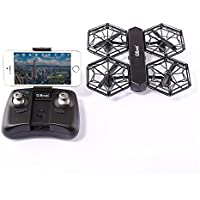 ECLEAR RC Mini Quadcopter Drone RTF 720P HD Camera WiFi FPV Nano Helicopter 2.4GHz 4CH 6 Axis Gyro DIY Aircraft Toys For Adult Kids Aerial Photography Racing - Compare prices on radiocontrollers.eu
