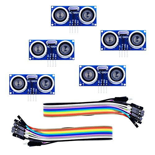 Amazon.es - 5pcs HC-SR04 Ultrasonic Sensor Module