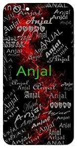 Anjal (Hollow Formed By Joining Two Hands) Name & Sign Printed All over customize & Personalized!! Protective back cover for your Smart Phone : CoolPad Note-5