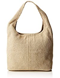 Unisa - Zislote_19_rop, Bolsos totes Mujer, Beige (Natural), 60x36x18 cm (B x H T)