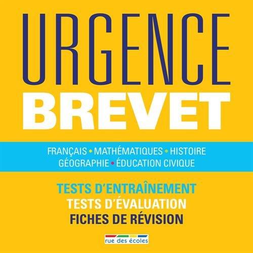 Urgence brevet 2016