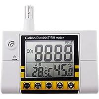 Biossido SINOSHON0 ~ 2000ppm Campo di montaggio a parete digitale carbonio Monitor Indoor Air Quality Anidride carbonica Temperatura RH Regolatore CO2 Monitor Digitale sensore Tester