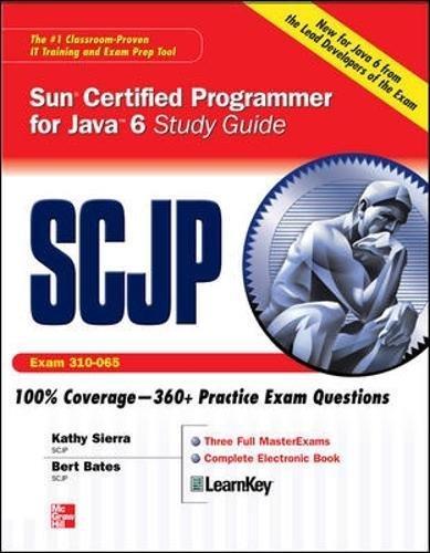 SCJP Sun Certified Programmer for Java 6 Study Guide: Exam 310-065 por Kathy Sierra