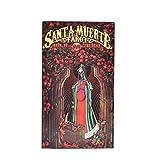 Tarot de Santa Muerte: cartas de tarot e instrucciones Libro en rústica - 78 hojas