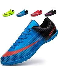 84a5d12e92799 Ikeyo Chaussures de Football Homme Profession Athlétisme Entrainement  Chaussures de Sport Adolescents en Plein Air Unsisexe