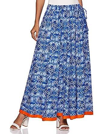 Akkriti By Pantaloons Women's A-Line Maxi Skirt