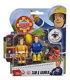 Idealtrend Feuerwehrmann Sam Figuren beweglich Doppelpack Auswahl Simba Elvis Ellie Lion: Farbe: Sam und Arnold