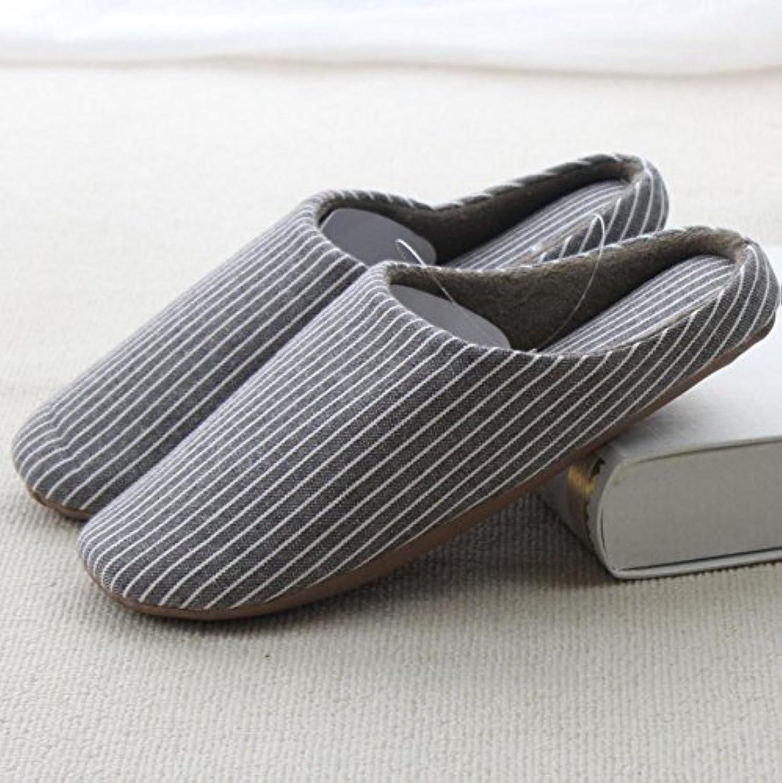 mhgao Home Fashion hombres Casual algodón Zapatillas, 1, Small -