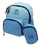 Kinderrucksack, Kleinkinderrucksack, Kindergartenrucksack für Mädchen und Jungen mit Utensilien Tasche, abwaschbar, optimal für den Alltag, Sport, Wandern und Freizeit, 2 Teile zum Preis von 1 !