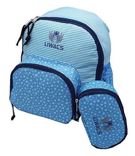 Kinderrucksack, Kleinkinderrucksack, Kindergartenrucksack für Mädchen und Jungen mit Utensilien Tasche, abwaschbar, optimal für den Alltag, Sport, Wandern und Freizeit (Kleinkind, Isolierte Lunch-box)
