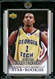 200708 Upper Deck First Edition # 219 Javaris Crittenton RC NBA Basketball ROOKIE Trading Card