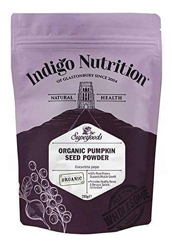 Indigo Herbs BIO Kürbiskern Protein Pulver 250g
