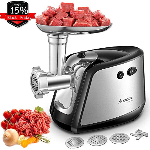 Aobosi Electric Meat Grinder, Meat Mincer &...