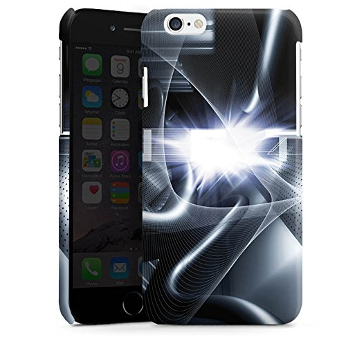 Apple iPhone 5 Housse Étui Protection Coque Techno Tunnel Chrome Cas Premium brillant