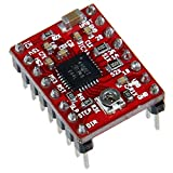 #9: 1pc A4988 with Heatsink (Red) BY TECHNOLOGYBAZAR