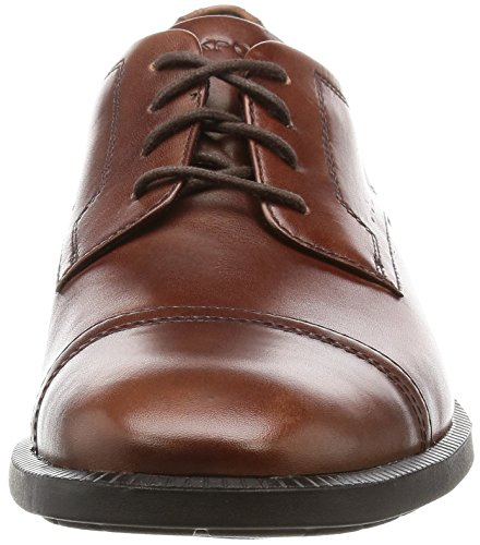 Rockport Dressports Modern Captoe, Scarpe Oxford Uomo Brown (New Brown Leather)