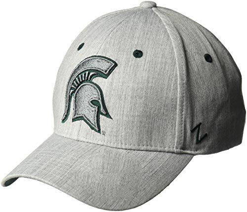 Zephyr NCAA Herren Tailored Stretch Cap, Herren, Tailored, grau, X-Large -