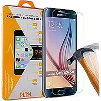PLT24® 0,3mm 9H Hartglas / Panzerglas / Displayschutzglas / Tempered Glass / Panzer Glas Folie / Schutzglas / Glasfolie / Verbundenglas für Samsung Galaxy S6