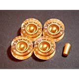 MIJ Speed Knobs and Toggle Knob Set Printed (Inch) gold fa-pspd5in-gld