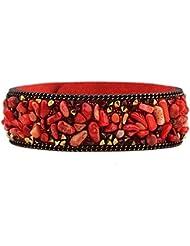 SUYA pulseras,2pcs, grava natural de pulsera multicolor, joyería, pulsera creativa, regalo creativo , red