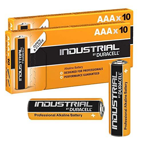 Duracell 20x AAA Industrie Alkaline-Batterie-Orange Industrie Alkaline-batterien