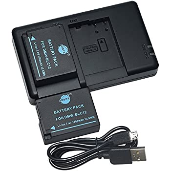 Battery Charger for DMW-BLC12 BP-DC12  BP-51 Replace Panasonic DE-A79B