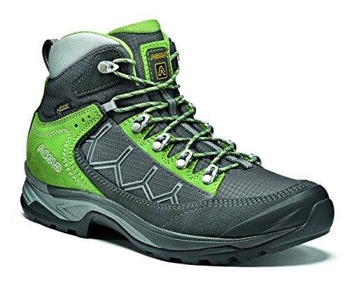 Asolo Damen Falcon GV ML Stiefel, grau (graphite / english ivy), 39 1/3 EU (6 UK) Gore-tex Boot-composite