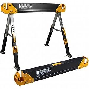 ToughBuilt–C650trabajo caballete caballete altura regulable hasta 650kg)