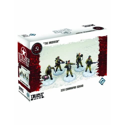 Dust Tactics: Ssu Command Squad Miniatures