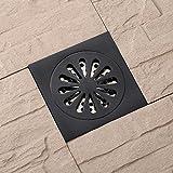 Schwarz Antik Kupfer Deodorant Bodenablauf Bad Balkon Küche Flieseneinsatz Boden Kanalisation Filter Anti-Blockierung