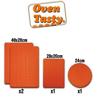 Oven Tasty VHGHSCSET0207 Matte für Backofen und Mikrowelle, gesunde und fettfreie Ernährung