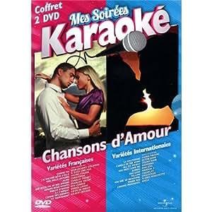 Mes Soirées Karaoké Chansons D'Amour (2 DVD - Chanson Française & Internationale)
