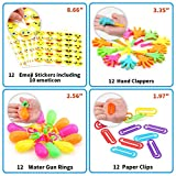 Amy & Benton Party Prizes,120PCS Party Bag Fillers Toys for Kids,Children Birthday Party Favours Assorted Toy for Pinata,Carnival Prizes Bild 3