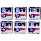 6 x Eucryl poudre dentifrice fumeurs originale 50g