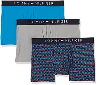 Tommy Hilfiger Men's Icon Trunk Stars Boxer Shorts, pack of 3