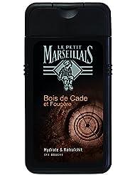 Le Petit Marseillais Gel Douche Homme Bois de Cade & Fougère Flacon 250 ml - Lot de 3