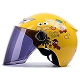 YAHAMA Integralhelm Kinder Helm Gesichtsschutz Motorradhelm Kind Schutzhelm Kinder,48-54cm