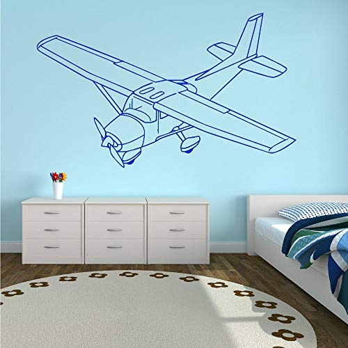 WWYJN Wall Stickers Vinyl Wall Art Sticker Decal White 58 X 35 cm