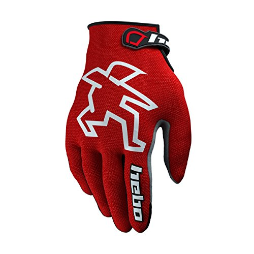 HEBO HE1159RL Trial Nano Pro II Handschuhe, Rot, Größe L -