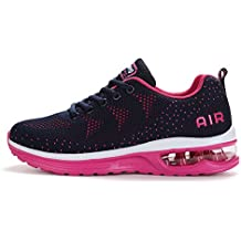 new concept 7adac 62822 ... air max femme noir et rose. Fexkean Hommes Femme Basket Mode Chaussures  de Sports Course Sneakers Fitness Gym athlétique Multisports Outdoor Casual