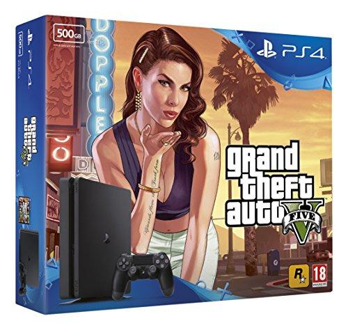 Sony PlayStation 4 500GB GTA V Bundle